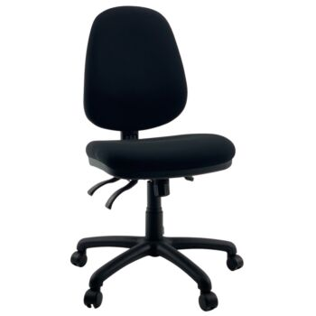 CITY High Back Wide Seat Comfort Office Task Chair Australian Made