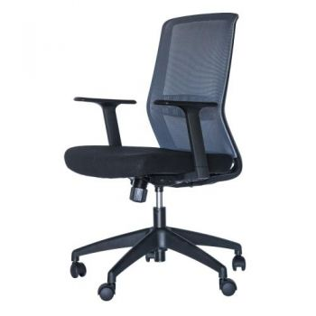 Esteem Premium Mesh Executive Office Chair - Black