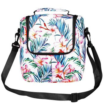 FRANGIPANI GOOD VIBES LUNCH BOX INSULATED 26 X 30CM 7L
