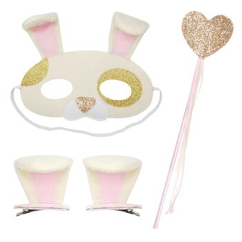 Dress Up Play Set-Gold Puppy - Pack Size 2