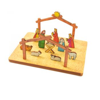 The Nativity - Vertical Memory Puzzle