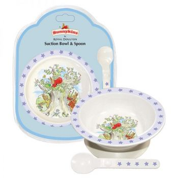Bunnykins Suction Bowl & Spoon - Shining Stars
