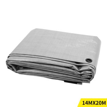 4.3x6.1M Heavy Duty PE Poly Tarps Camping Cover 200gsm
