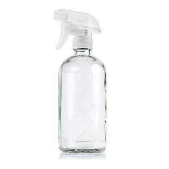 Glass Spray Bottles Clear for Aromatherapy 500ml x 4Pcs