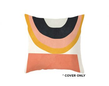 Indoor Cushion COVER - Rainbow Feels Abstract - 45x45