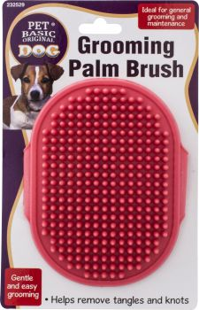 Dog Grooming Palm Brush