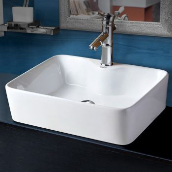 Cefito Bathroom Basin Ceramic Sink Vanity Basins Bowl Above Counter Hand Wash