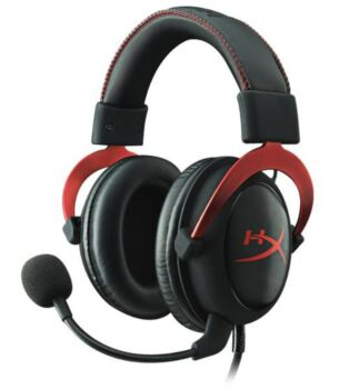HyperX 3.5mm Wired Cloud II Red Gaming Headset Headphone with Mic