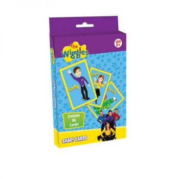 The Wiggles® SNAP! Card Game (with CDU)