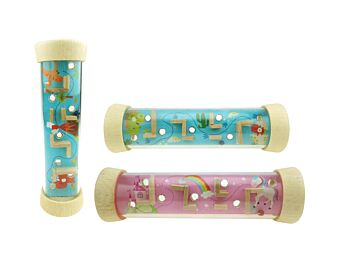 PRICE FOR 12 ASSORTED UNICORN & DINOSAUR LABYRINTH IN TUBE