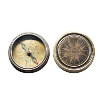 Authentic Models Antique Pocket Compass