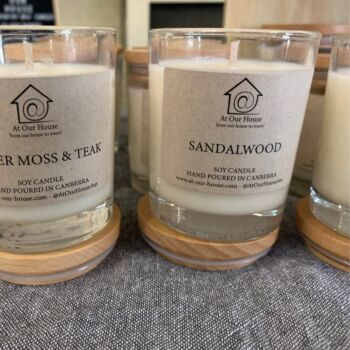 Studio Soy Candle - Rosemary & Mint