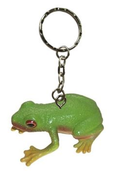 Red-eyed green tree frog keychain (pack of 6)