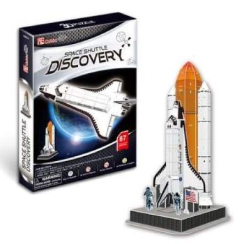 3D Puzzle Fun Kids Toys Space Shuttle Discovery