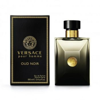 Versace Pour Homme Oud Noir by VERSACE for Men (100ML) Eau de Parfum-BOTTLE