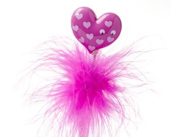 Feather Pen - Pink