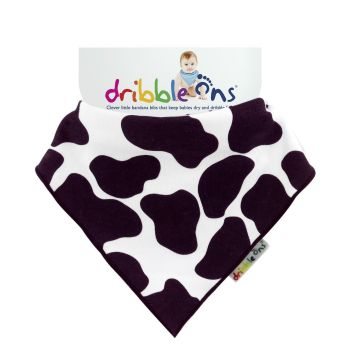 DRIBBLE ONS Cow Print
