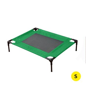 PaWz Heavy Duty Pet Bed Trampoline Hammock Small Green