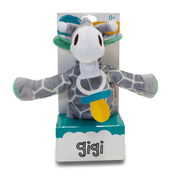 BibiPals Mint/Grey Giraffe PLUSH - GIGI