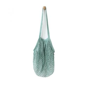 Beehave 100% Cotton Net Tote Bag - Sage