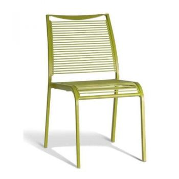 Wanika Outdoor Dining Chair - Green Frame