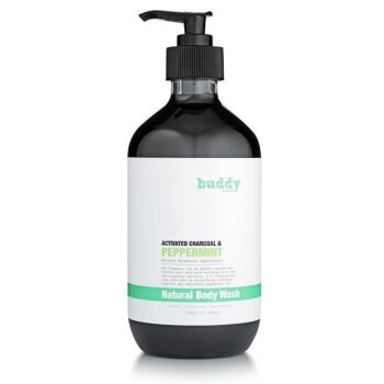Activated Charcoal & Peppermint Body Wash