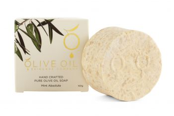 Olive Oil Soap, All-Natural,  Mint Absolute ,100g