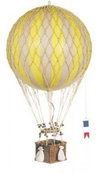 Royal Aero Hot Air Balloon Model - Yellow