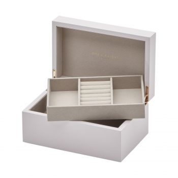 MIA Blush Lacquered Jewellery Box