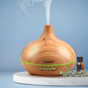 Devanti Ultrasonic Aroma Aromatherapy Diffuser Oil Electric Air Humidifier 307 L