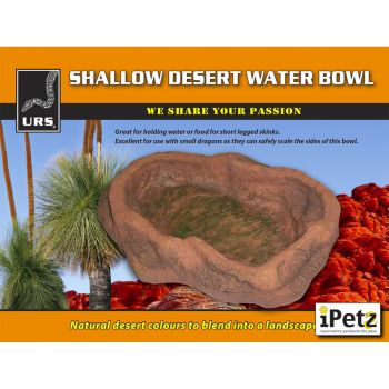 ULTIMATE REPTILE SUPPLIERS WATER BOWL SHALLOW DESERT