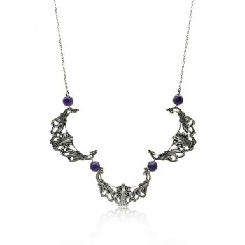 Natural Amethyst Rochael Necklace