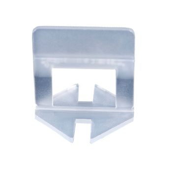 600x 1MM Tile Leveling System Clips Space Saving Tiling Tool