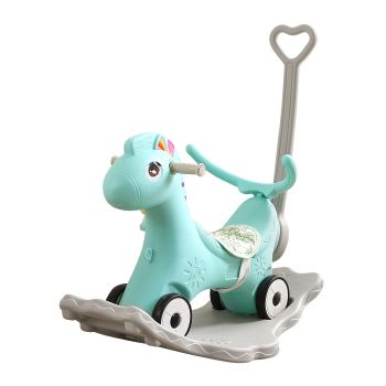BoPeep Baby 4-in-1 Rocking Horse Toddler in Blue Colour