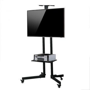 TV Mount Stand Floor LCD LED Screen Monitor Bracket Shelf Adjustable 32 to 55""