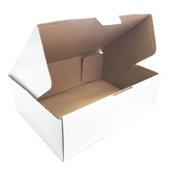 25 Die Cut Cardboard Boxes 310 X 220 X 105Mm [Large Shipping Carton] [Mailing Boxes]