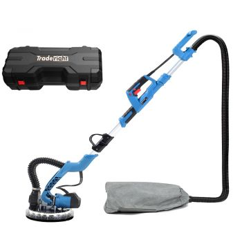 Traderight 750W Drywall Sander Plaster Dust Free Wall Gyprock with Vacuum LED