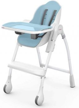 Oribel Cocoon High Chair Dining For Infant Toddler in Blueberry Colour