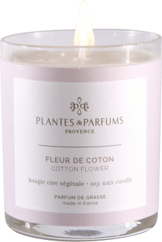 180g/6.34 oz Perfumed Hand Poured Candle - Cotton Flower