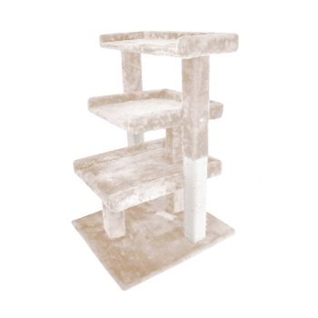 PaWz 0.84M Cat Scratching Post Tree Gym House Condo in Beige