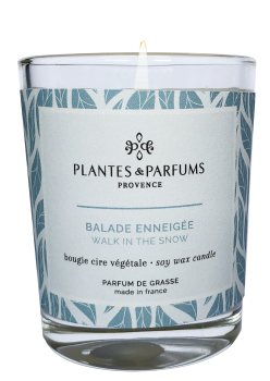 75g Perfumed Hand Poured Candle - Frosted Rose