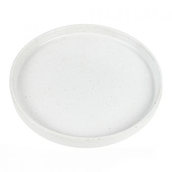 THEO MEDIUM PORCELAIN PLATE 20 X 20 X 2CM