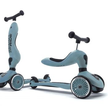 Scoot & Ride Highwaykick 1 2in1 Scooter Steel Blue 1.5Yr + Baby Toddler