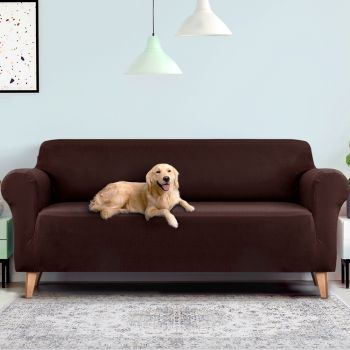 Artiss Sofa Cover Elastic Stretchable Couch Covers Coffee 1/2/3/4 Seater