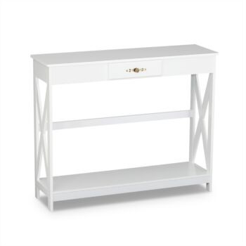 Elmer Console Table with 1 Drawer
