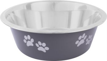Dog Bowl Stainless Steel Coloured 25cm