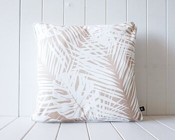 Outdoor Cushion - Palm Leaf - Natural - 45x45