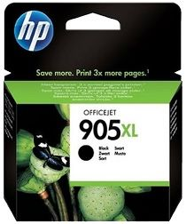 HP No. 905XL Black Ink Cartridge - Estimated Page Yield 825 pages - T6M17AA