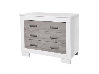 Lucca Chest - White & Ash