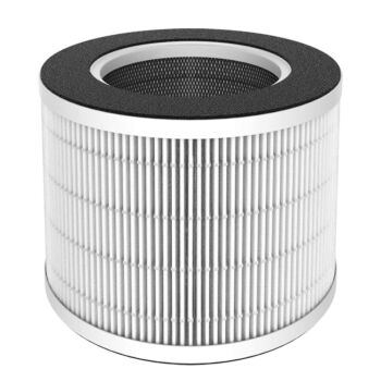 Arovec™ Genuine Replacement Filter, Compatible with AV-P152PRO Smart Air Purifier Pre-Filter H13 True HEPA High-Efficiency Activated Carbon AV-P152PRO-RF